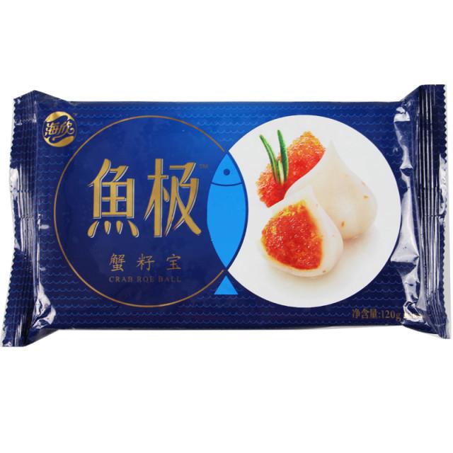 海欣 鱼极蟹籽宝 120g/袋