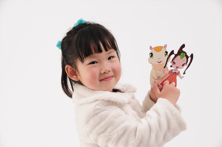 外国小孩写字 素材