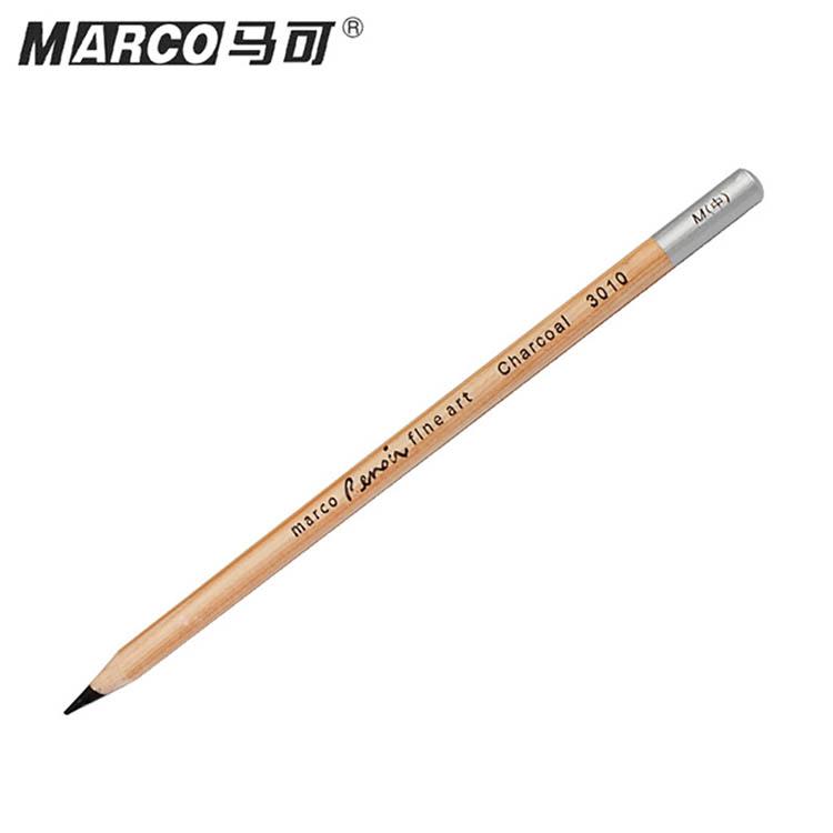 010 M炭笔速写碳笔中绘画碳笔碳化铅笔美术专用品 12支装